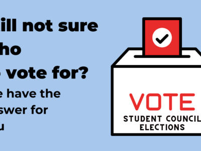 Vote, UvA Student Elections, UvA Student Council Elections, CSR elections, FSR-FMG elections