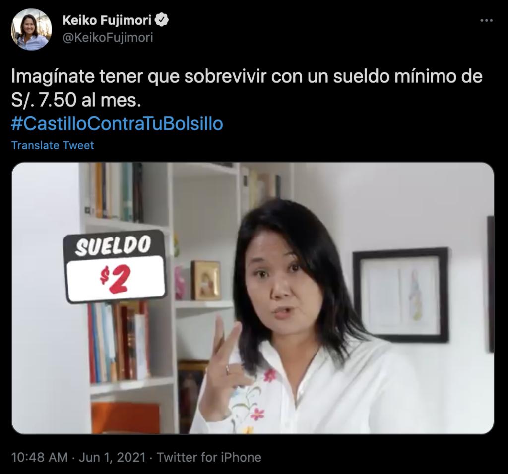 Keiko Fujimori's campaign
