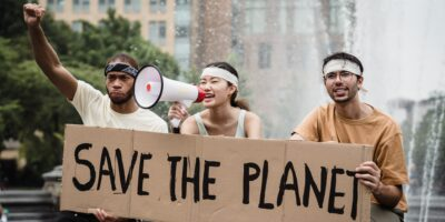 Climate change activism on social media